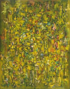 Ad Reinhardt / Number 43 (Abstract Painting, Yellow) / 1947 / MoMa / love this. Ad Reinhardt, Post Painterly Abstraction, Piet Mondrian, Colour Field, Mark Rothko, Japanese Painting, Museum Of Modern Art, Conceptual Art, Moma