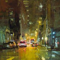 Cet artiste peintre nous offre une série de peintures illustrant les villes de New York et de San Francisco. A la fois abstraites et chimériques, ses créations nous plongent ainsi dans une ambiance mystérieuse... Jeremy Mann, un artiste peintre basé &ag...