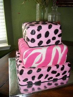 Animal Print theme to match the It's A Girl Invitations