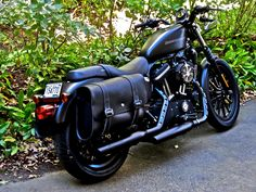 On a 48 saddlebags the sportster and buell motorcycle forum