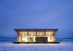 The Glass Farmhouse by Olson Kundig Architects