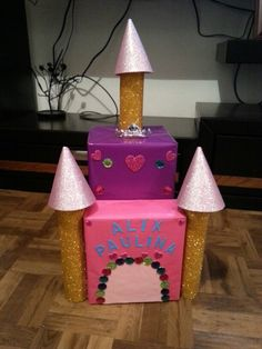 Valentine's box castillo de princesas