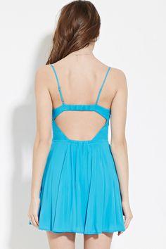 Cutout-Back Cami Dress   Forever 21 - 2000183130