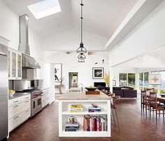 really high ceiling (by Mark Ashby Design | Home Adore) - my ideal home...