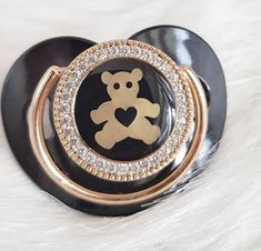 "So cute ""Teddy bear "" pacifier 🖤💎💎💎 ✈️ Worldwide Delivery 39 Weeks Pregnant, Cute Teddy Bears, Baby Accessories, Baby Feeding, Baby Shoes, Maternity, Delivery, Instagram, Baby Boy Shoes"