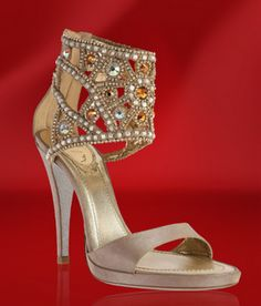 Shoes by Rene Caovilla  These are some over the top shoes by italian designer Rene Caovilla....for over the top prices.They average $ 1200 a pair......