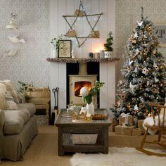 Yılbaşı dekorasyonu için ilham alınacak evler...