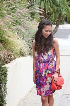 Colorful Dress | Adri Lately