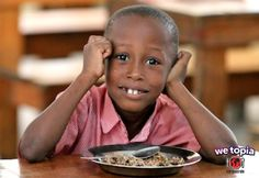 Joy given in WeTopia has fully funded nutritious hot meals and put food on the table for kids in Haiti!