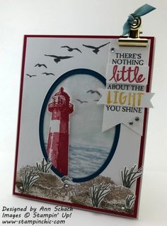 The Stamp Review Crew: High Tide Edition | The Stampin' Schach | Bloglovin' High Tide Stampin Up, Boy Cards, Men's Cards, Nautical Cards, Nautical Anchor, Beach Cards, Stamping Up Cards, Fathers Day Cards, Scrapbooking