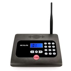 Retevis RT57 Wireless Intercom Long Range Full Duplex No Delay Caller ID Intercom Baby Elderly Monitor for Home Care and Office (Black 1 Pack) -- You can get more details by clicking on the image. (This is an affiliate link)