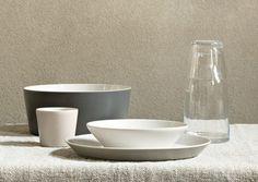 Alessi Tonale Bowl - Light Grey - modern - dinnerware - Switch Modern