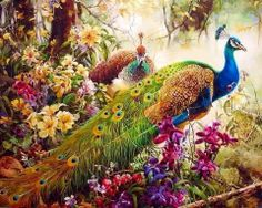 Are you in love with this peacock? If Yes then this Beautiful Peacock DIY Paint By Number painting is especially for you. Grab this painting NOW. Simple Oil Painting, Diy Painting, Painting Portraits, Paintings, Diy Canvas, Acrylic Painting Canvas, Painting Abstract, Framed Canvas, Canvas Artwork