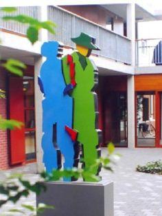 Sculpture Together II Fascinator, Architecture, Sculpture, Html, Outdoor Decor, France, Art, Home Decor, Cities