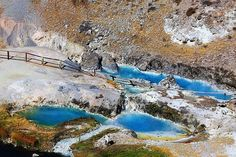 See Hot Creek Hot Springs, Mammoth Lakes, California