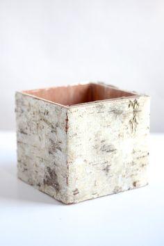 bark bound vase - Google Search