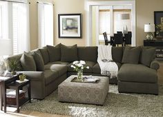 Living Room Furniture, Indulgence Sectional, Living Room Furniture | Havertys Furniture
