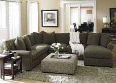 Living Room Furniture, Indulgence Sectional, Living Room Furniture | Havertys Furniture