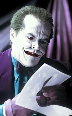 Joker Nicholson, Jack Nicholson, Joker Outfit, Joker Heath, Batman Vs, Graphic Novels, Gotham, Knights, Dc Comics