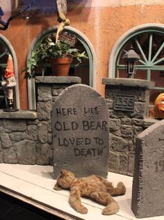 Old Bears never die, they just fade away..........