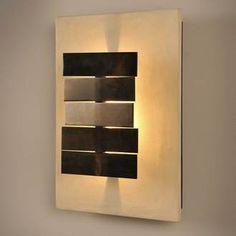Applique effet béton ciré sable et métal 3 lumières hauteur 35 cm XYLO