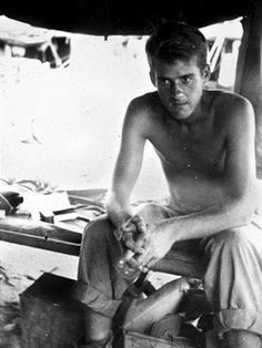 Eugene Sledge - Writer of, With the Old Breed: At Peleliu and Okinawa, one of the most well known first-hand memoirs about the War in the Pacific. Was a US Marine in the 1st Marine Division, surviving some of the grizzliest WWII battles, which he did describe in detail. Later went on to become a university professor. His writings are used frequently for resource material, and work as a basis to the HBO miniseries, The Pacific.