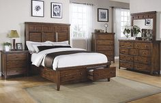 Hamilton Transitonal Queen Sleigh Bed with 2 Drawer Storage Footboard by Vendor 5349 at Becker Furniture World Storage Bed Queen, Bed Storage, Bedroom Storage, Drawer Storage, King Beds, Queen Beds, Camas King, Liberty Furniture, Busse