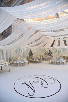 All White Wedding Ideas - Decoration Inc - Britt Chudleigh Photography - Planner: Bluebird DMC #weddingreception #weddingdecor #winter #white #wedding #weddingplanning