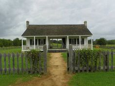 Anson Jones Home, Barrington Living History Farm at Washington-on-the-Brazos State Historic Site