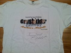 Donate to Crush Kids' Cancer and win this one-of-a-kind t-shirt signed by David Archuleta! Only 2 days left! More info here: http://www.thekidschapter.org/2012/08/desperate-times-call-for-desperate.html