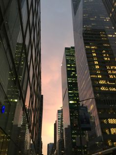 This too shall pass - myprada:   Sunsets in New York City - always the...