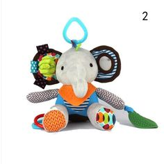 Professional Sale Baby Stroller Pendant Plush Fish Cartoon Mirror Pacifier Hanging Bed Cute Toys Soft Squeaky Rattle Newborn Sleeping Infant Kids Cool In Summer And Warm In Winter Activity & Gear Mother & Kids