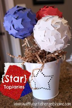 {star topiaries} - Wait Til Your Father Gets Home