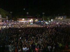 .@DavidGuetta necesita pocos fans para llegar a 38 MM en #FB. ¿Cuántos viven ya el #CelebrateLive Caracas? imagen vía @Evenpro