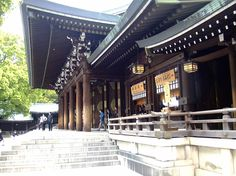 Meiji Shrine, Tokyo  Main Hall