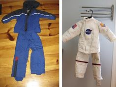 Home Made Astronaut Costume ~  Duct tape, a balloon, paper mache and a thrift store snow suit are all that's needed to make a fabulous astronaut costume perfect for the astronaut in training.