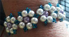 korálkový+náramek+zdobený+Náramek+z+perliček+a+rokajlu+s+americkým+zapínáním. Beaded Bracelets, Jewelry, Jewlery, Jewerly, Pearl Bracelets, Schmuck, Jewels, Jewelery, Fine Jewelry