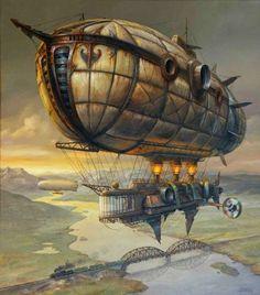 Extraordinary Paintings of Travel Vehicles by Jaroslaw Jasnikowski