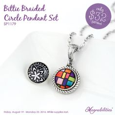 The special deal is over but you can still get this beautiful Magnabilities bittie necklace with two new inserts for $43. That's two necklaces for $43. Where else can you find a deal like that?