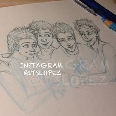 Instagram media itslopez - #wip of these little nuggets @5sos