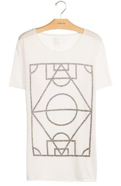 a50a445141 Osklen - TSHIRT RUSTICA BRAZILIAN FIELD OUTLINE - t-shirts - men