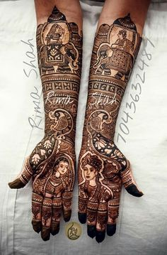 31 Trendy Ideas For Bridal Mehndi Designs Brides Mehendi Latest Bridal Mehndi Designs, Indian Mehndi Designs, Modern Mehndi Designs, Mehndi Design Pictures, Wedding Mehndi Designs, Mehndi Designs For Hands, Latest Mehndi, Wedding Henna, Mehandhi Designs