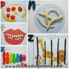 Playdough Activities, Printable Activities For Kids, Toddler Activities, Free Printables, School Items, 4 Kids, Teaching English, Homeschool, Kids Rugs