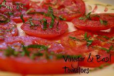 Vinegar And Basil Tomatoes