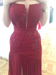 Handmade Vibrant, Formal Dresses, Red, Handmade, How To Wear, Beauty, Women, Fashion, Dresses For Formal