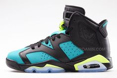 reputable site ec9ca d05ef Trendy Women s Sneakers   Air Jordan VI GS Black   Volt Ice Turbo Green  Black -