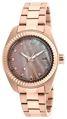 7d78f3f9a94 Invicta Women s 20353 Specialty Analog Display Quartz Rose Gold Watch Rose  Gold Watches