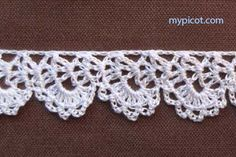 """MyPicot HOME WORK Free Pattern h005.pdf (Downloaded - SLT)  Crochet patterns from """"HOME WORK"""", ROSE PUBLISHING CO. (LTD.), 1881 """"Narrow Selby Lace No. 5"""""""