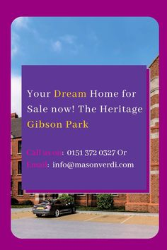 Your dream home for sale now! The Heritage Gibson Park Development . 20 units sold, few units remaining at the Manor house in Gibson Park development. #Gibsonhouse #GibsonPark #GibsonParkwirral #Gibsonhousewirral #GibsonparknewBrighton #GibsonparkWallasey Liverpool City Centre, New Brighton, Investment Companies, Property Development, Estate Agents, Dreaming Of You, Real Estate, The Unit, Park