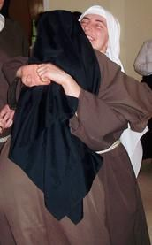 Novices Capuchin Sisters of Nazareth, Franciscan Religious Sisters, Womens Roman Catholic Franciscan Contemplative Order, Eucharistic Adoration, Evangelization